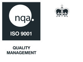 ISO 9001 Quality Management accreditation