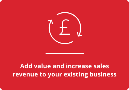 Add value and increase sales revenue to your existing business